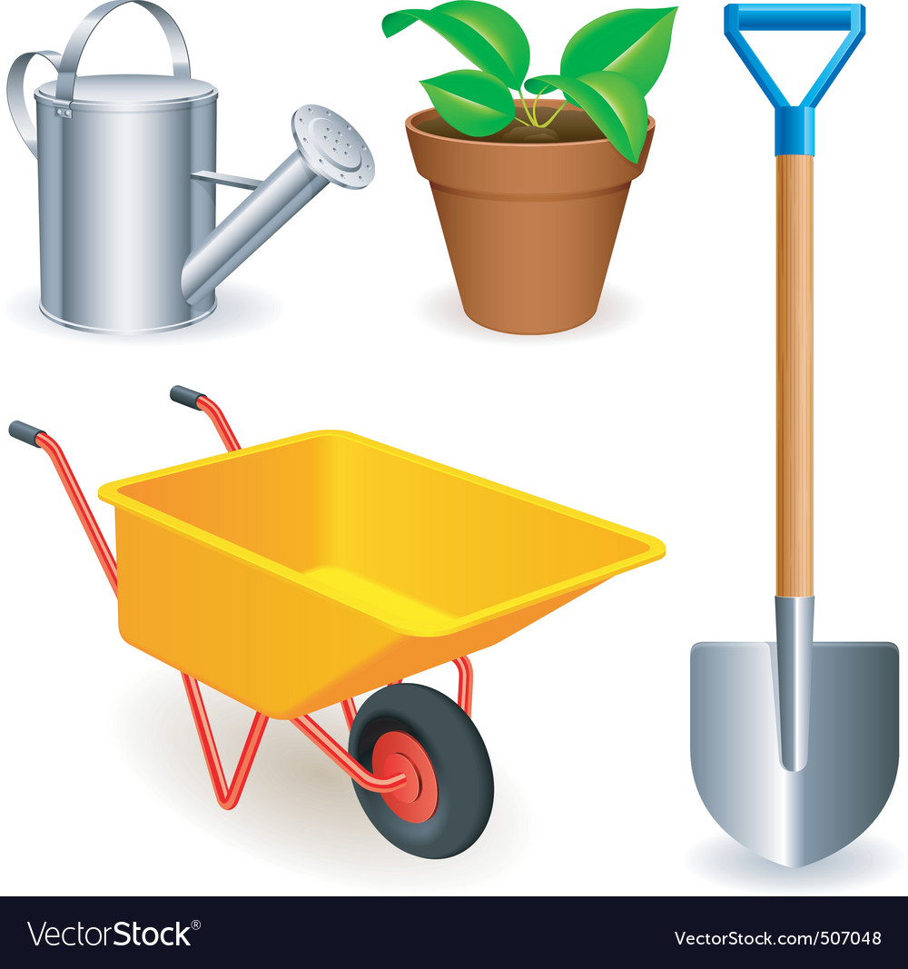 Garden tools vector | Price: 3 Credit (USD $3)