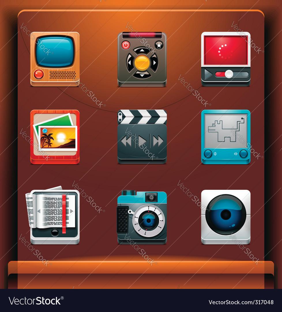 Multimedia vector
