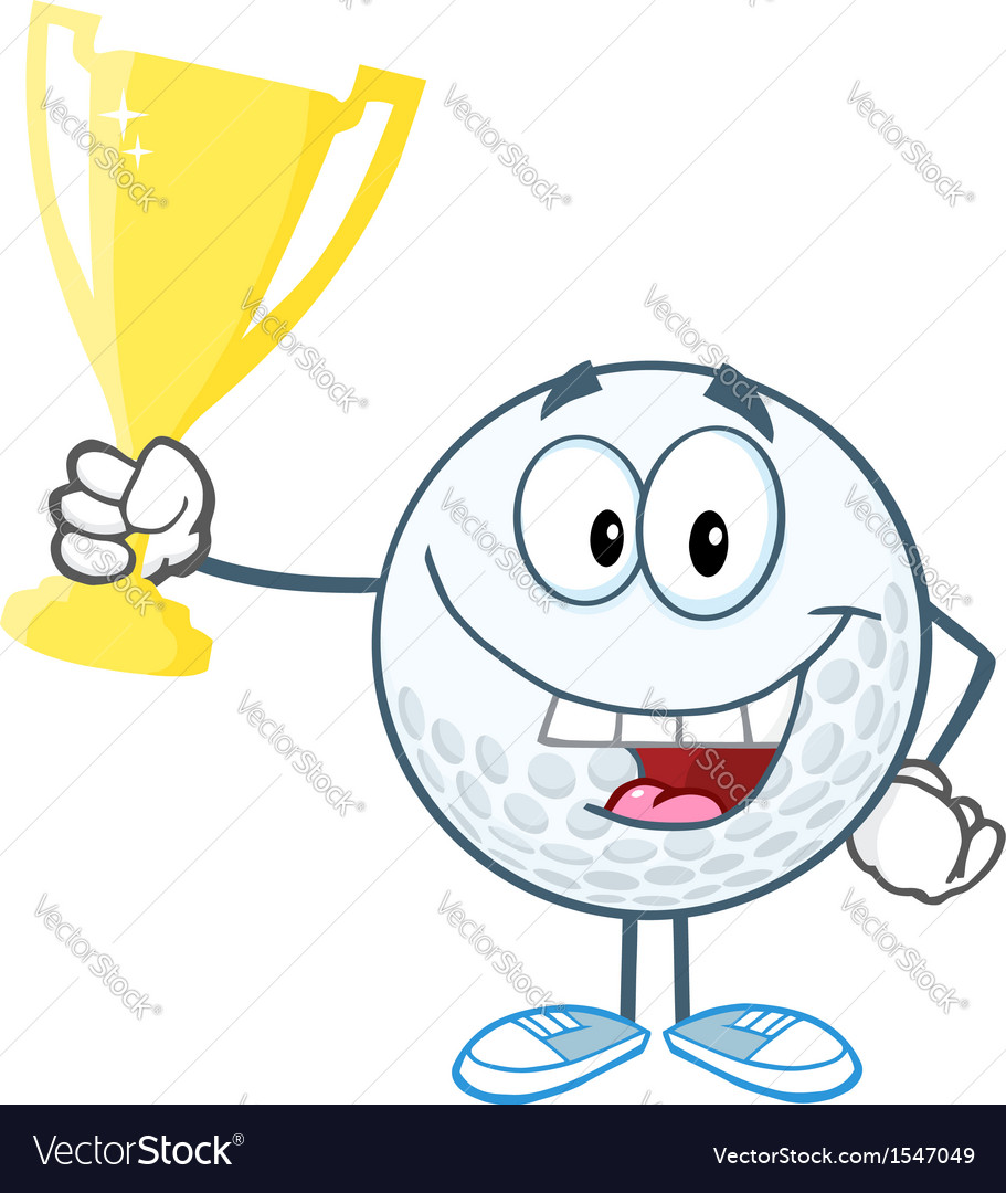 Golf tournament winner vector | Price: 1 Credit (USD $1)
