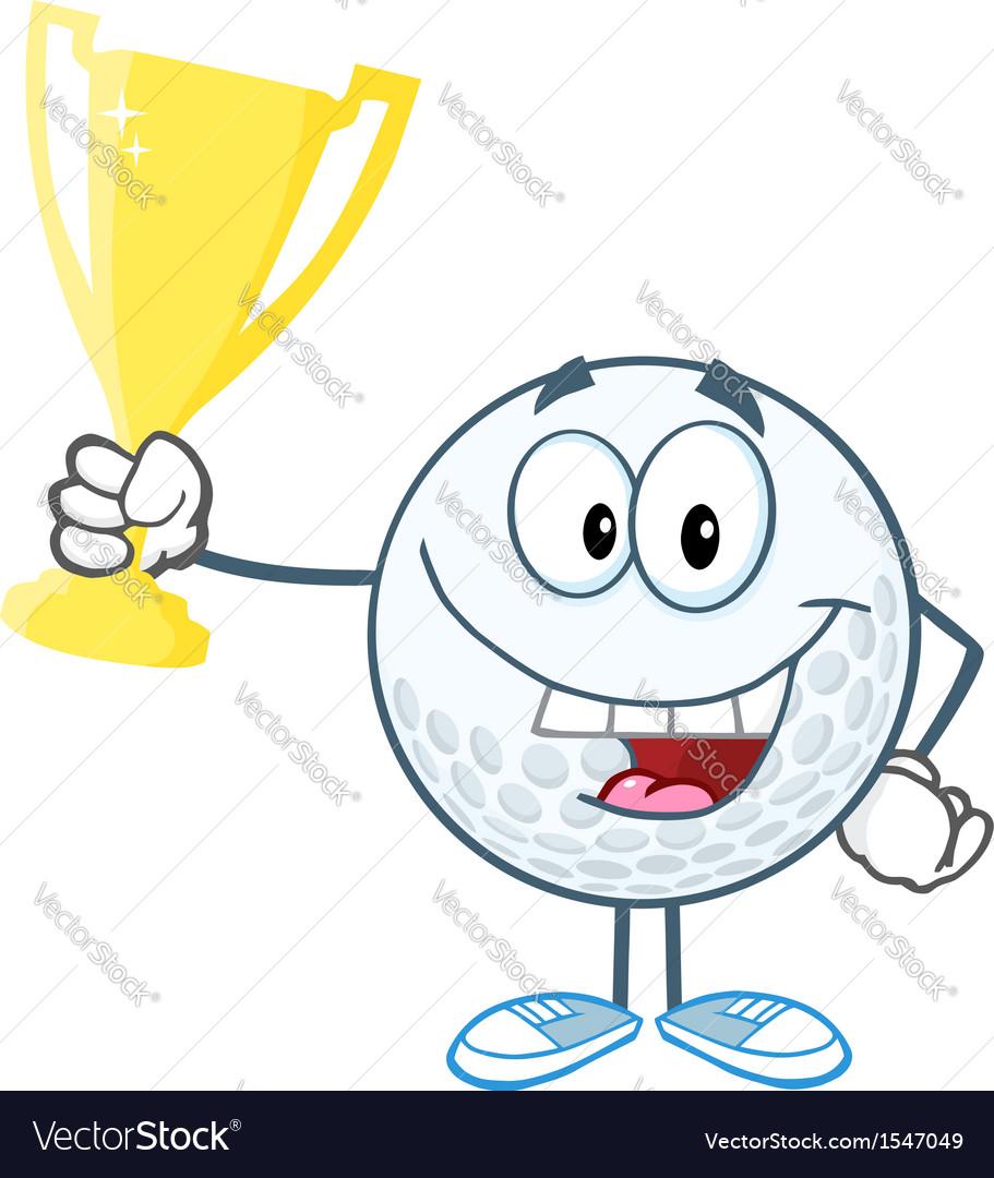 Golf tournament winner vector | Price: 1 Credit (USD $1)