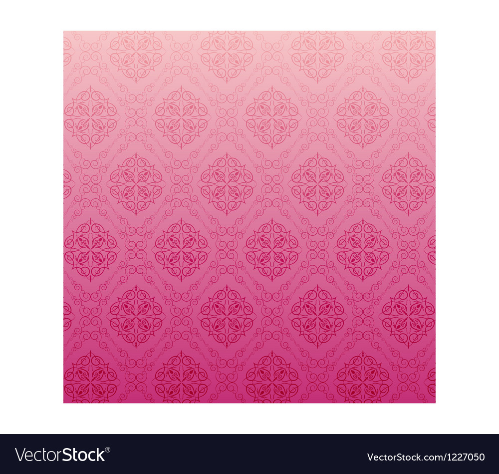Abstract pink floral background vector | Price: 1 Credit (USD $1)