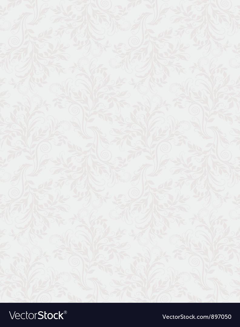Elegant decorative floral seamless pattern vector | Price: 1 Credit (USD $1)