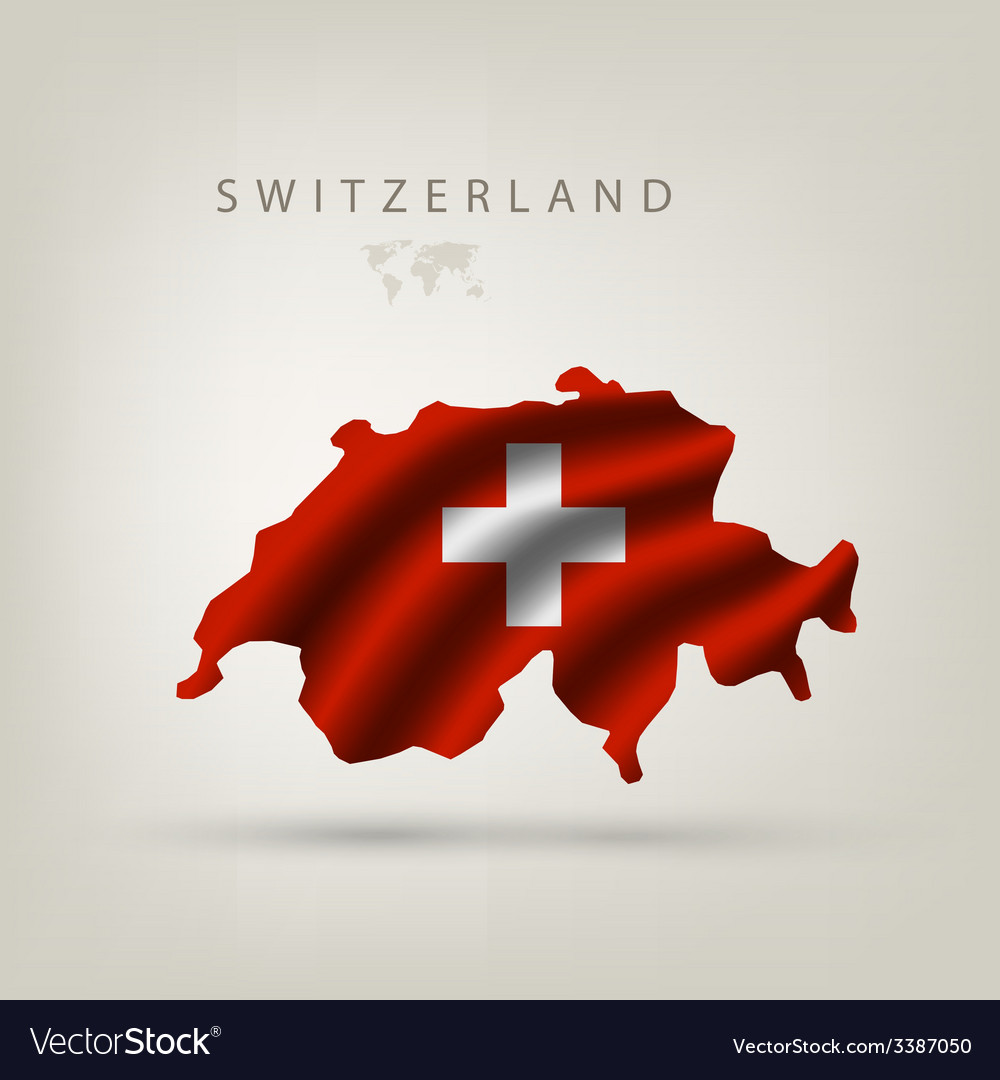 Flag of switzerland as a country vector | Price: 3 Credit (USD $3)