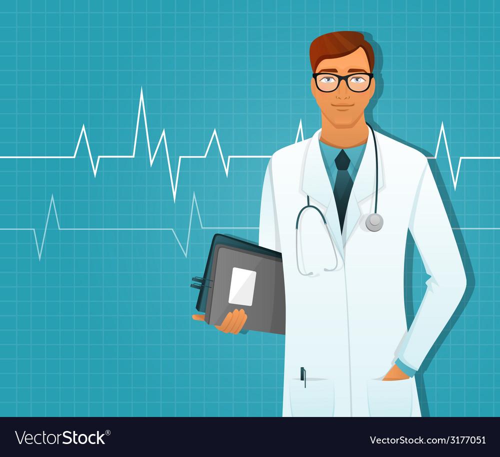 Doctor man vector   Price: 1 Credit (USD $1)