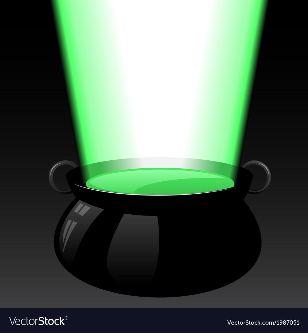 Magic cauldron vector   Price: 1 Credit (USD $1)