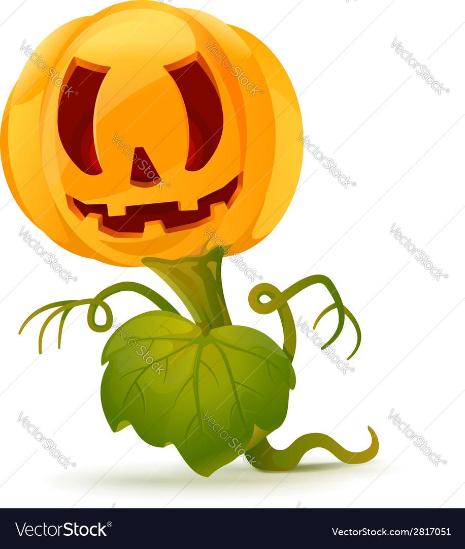 Pumpkin monster vector | Price: 1 Credit (USD $1)