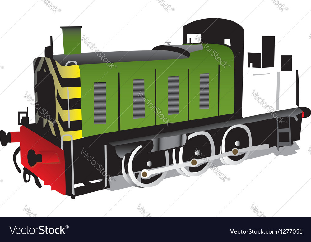 Train locomotive vector | Price: 1 Credit (USD $1)