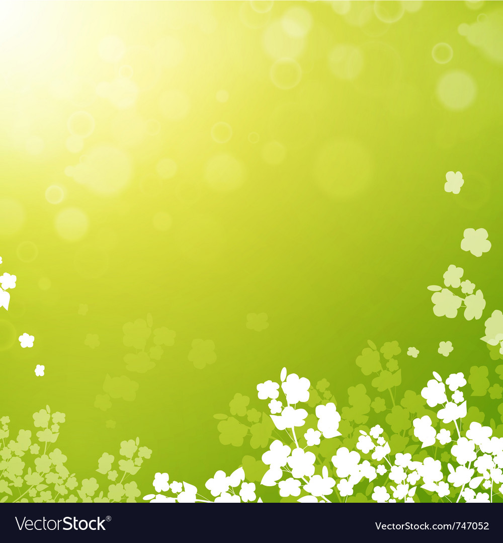 Spring or summer background vector | Price: 1 Credit (USD $1)