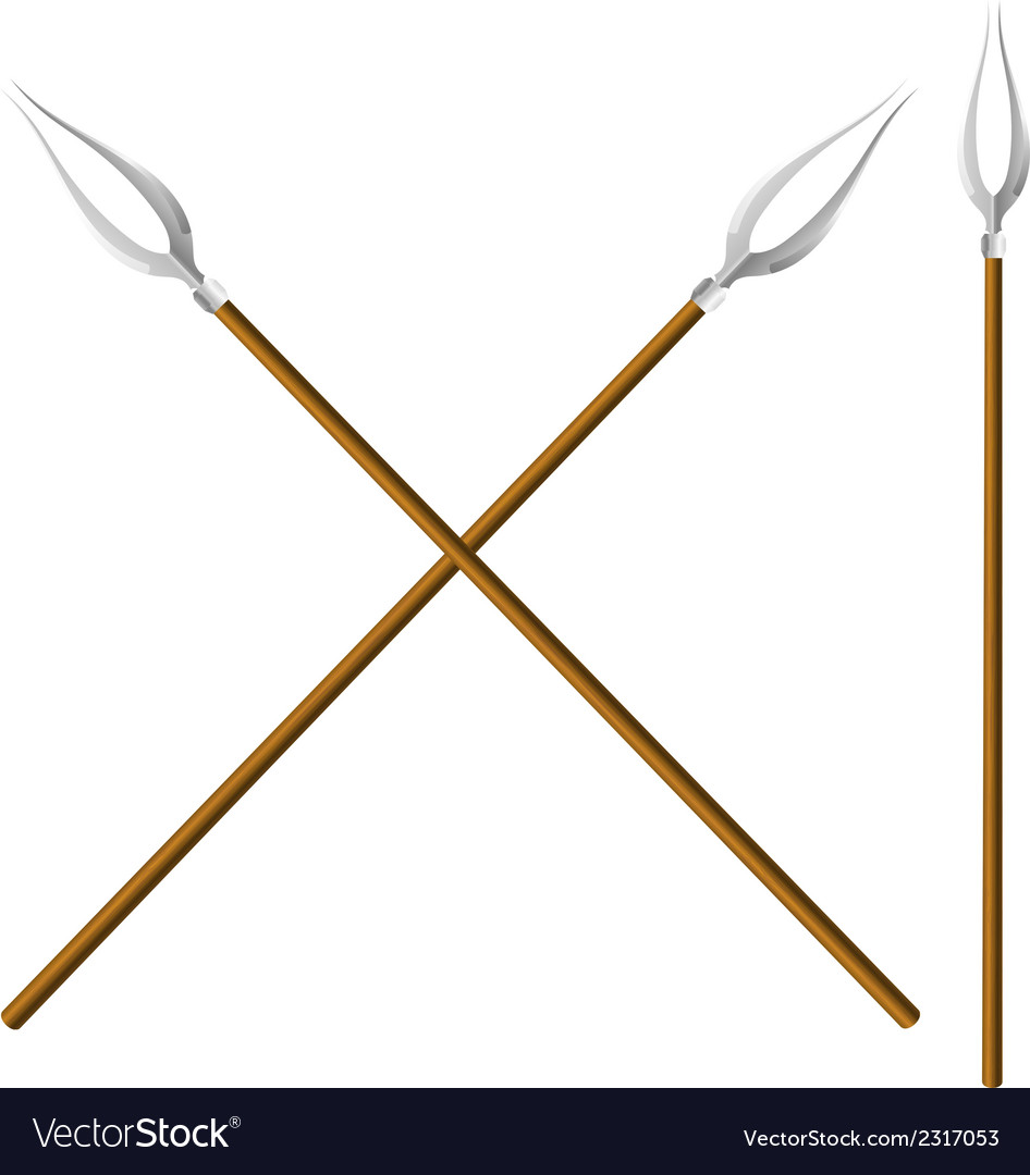 Crossed forks vector | Price: 1 Credit (USD $1)