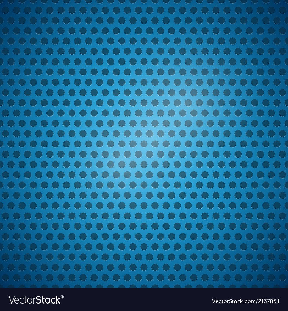 Abstract blue dotted steel - plastic background vector | Price: 1 Credit (USD $1)