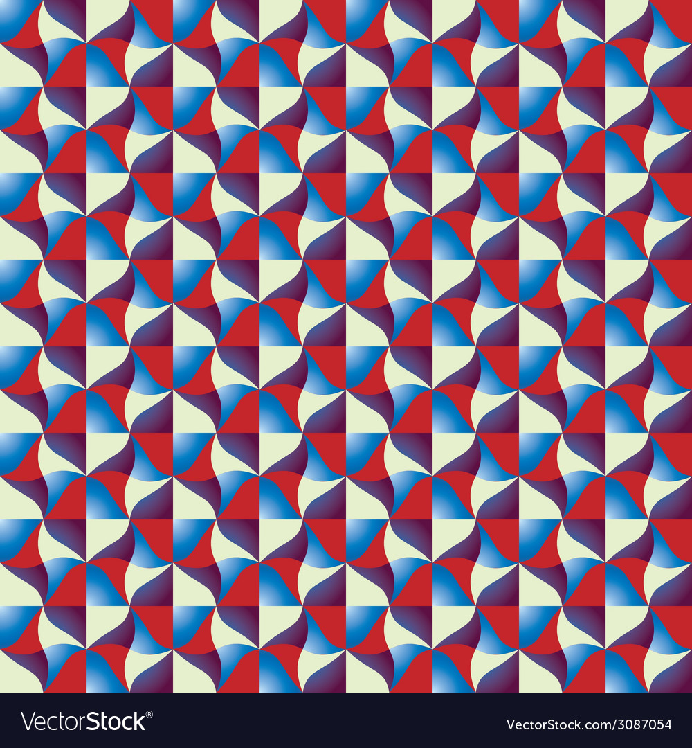 Optical tiles seamless pattern vector | Price: 1 Credit (USD $1)