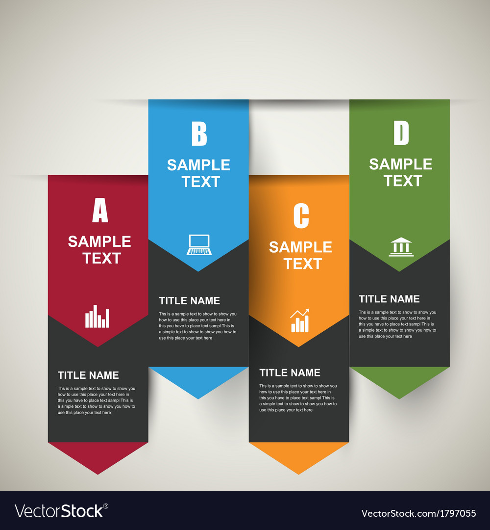 Infographic banners vector | Price: 1 Credit (USD $1)