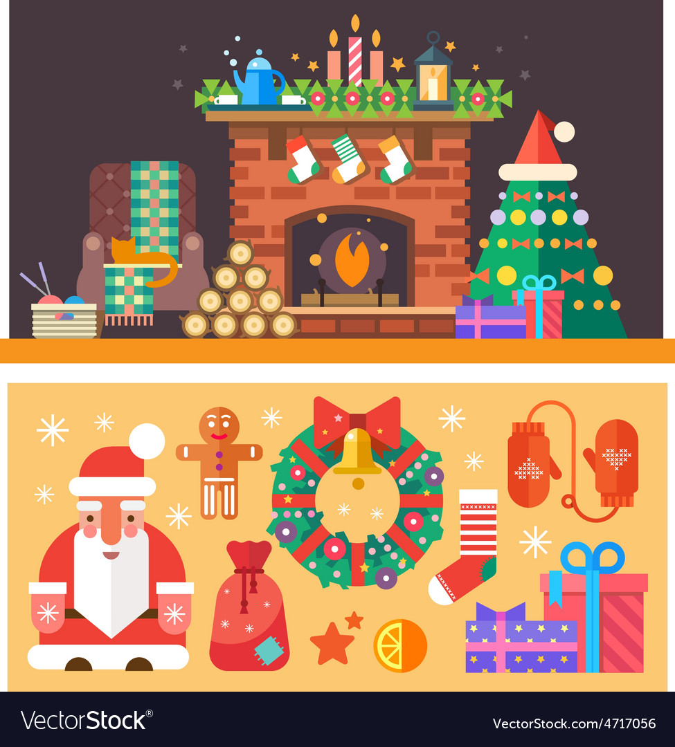 Christmas time vector | Price: 3 Credit (USD $3)