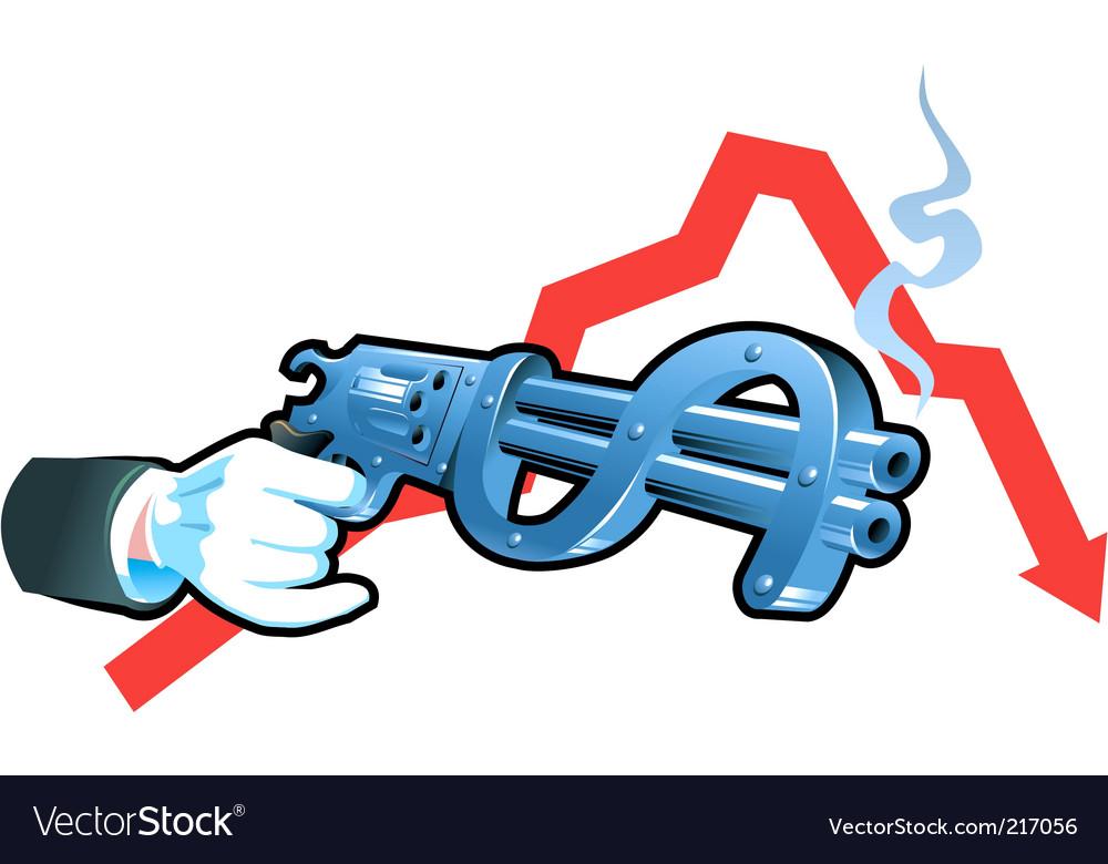 Financial war vector | Price: 3 Credit (USD $3)