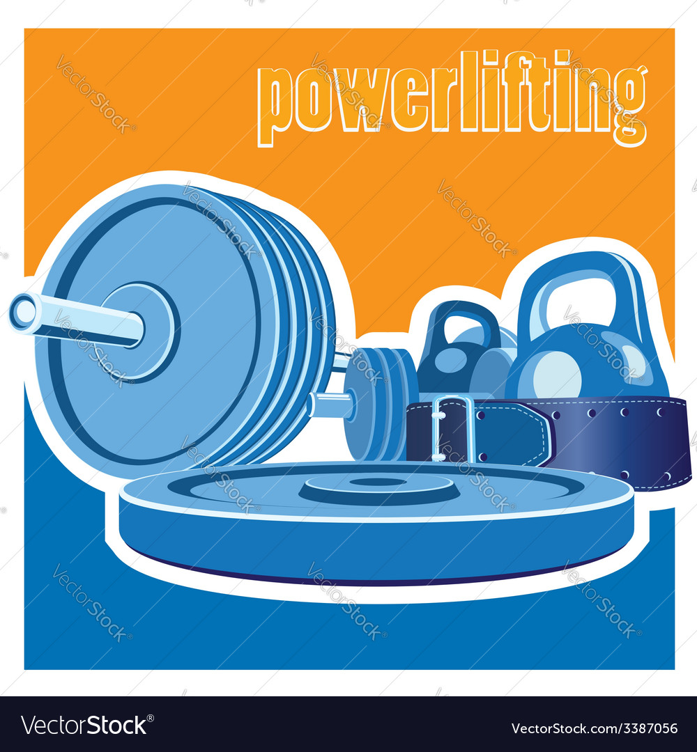 Powerlifting vector | Price: 1 Credit (USD $1)