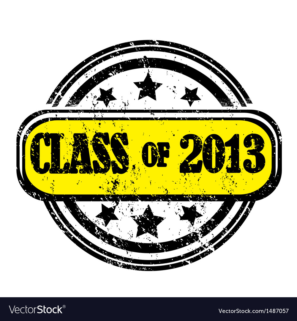 Class of 2013 vector | Price: 1 Credit (USD $1)