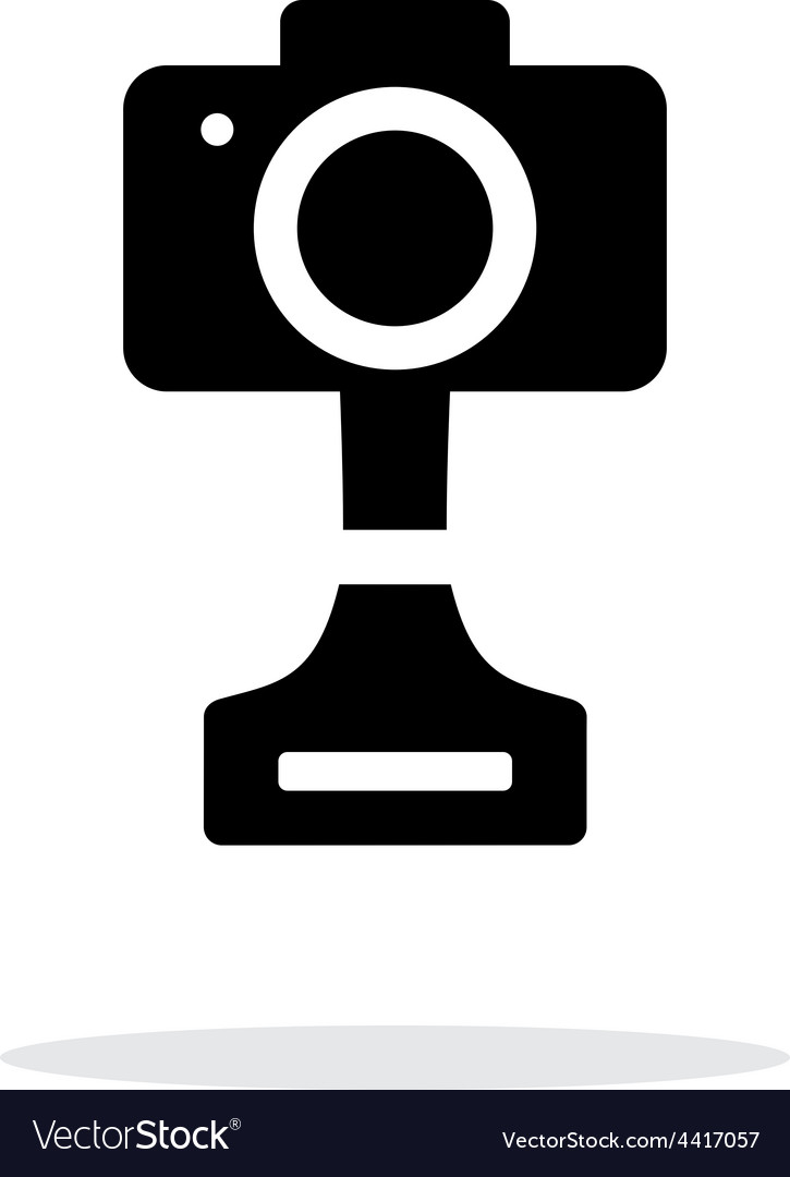 Slr photo award simple icon on white background vector | Price: 1 Credit (USD $1)