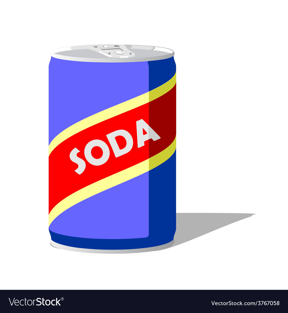 Soda pop can vector | Price: 1 Credit (USD $1)
