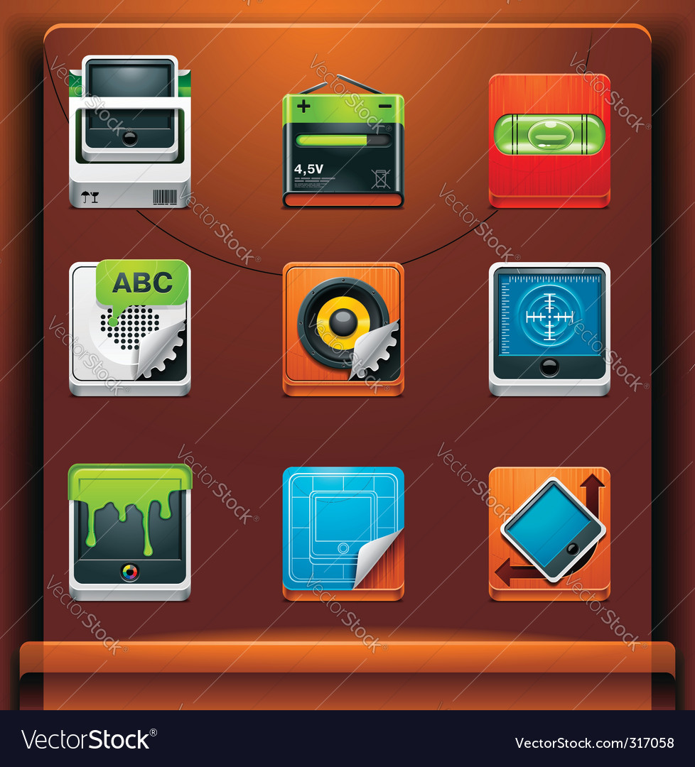 System tools vector | Price: 3 Credit (USD $3)