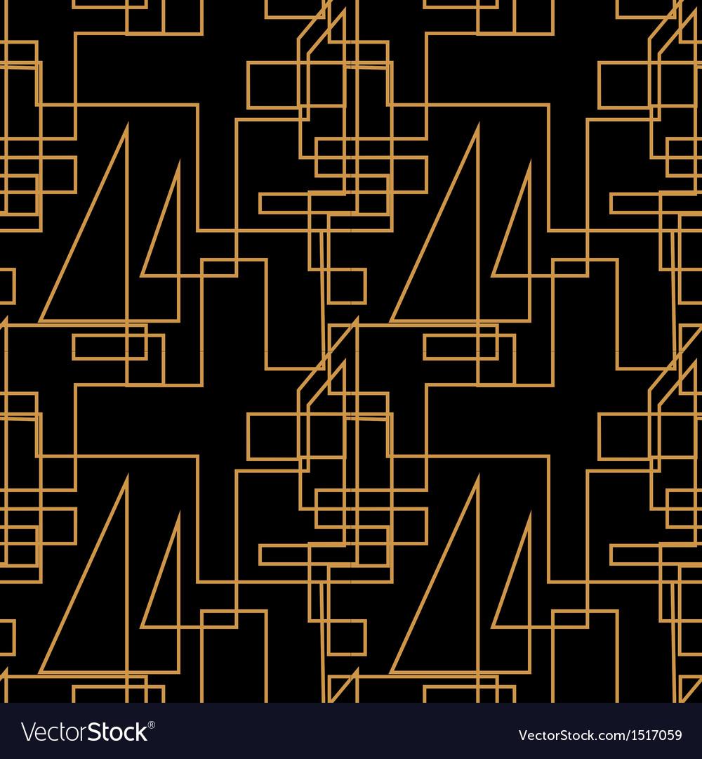 Geometric seamless line background vector   Price: 1 Credit (USD $1)