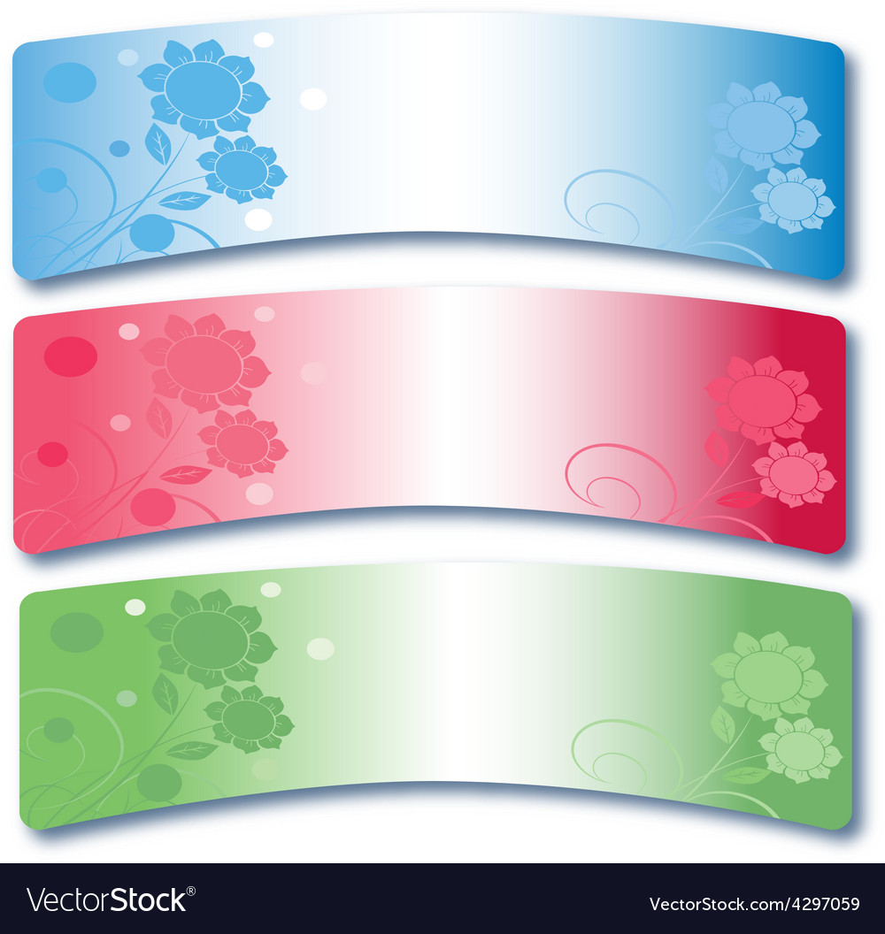 Set of banners 6 vector | Price: 1 Credit (USD $1)