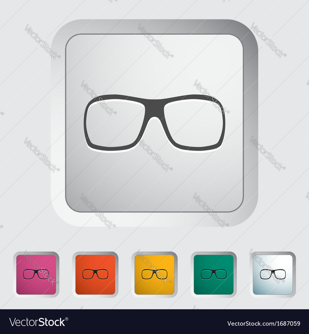 Sunglasses vector | Price: 1 Credit (USD $1)