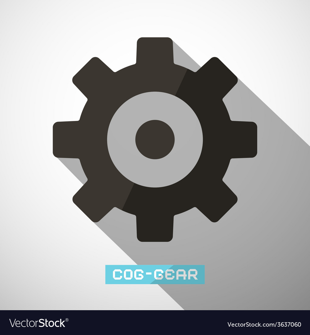Cog - gear vector | Price: 1 Credit (USD $1)