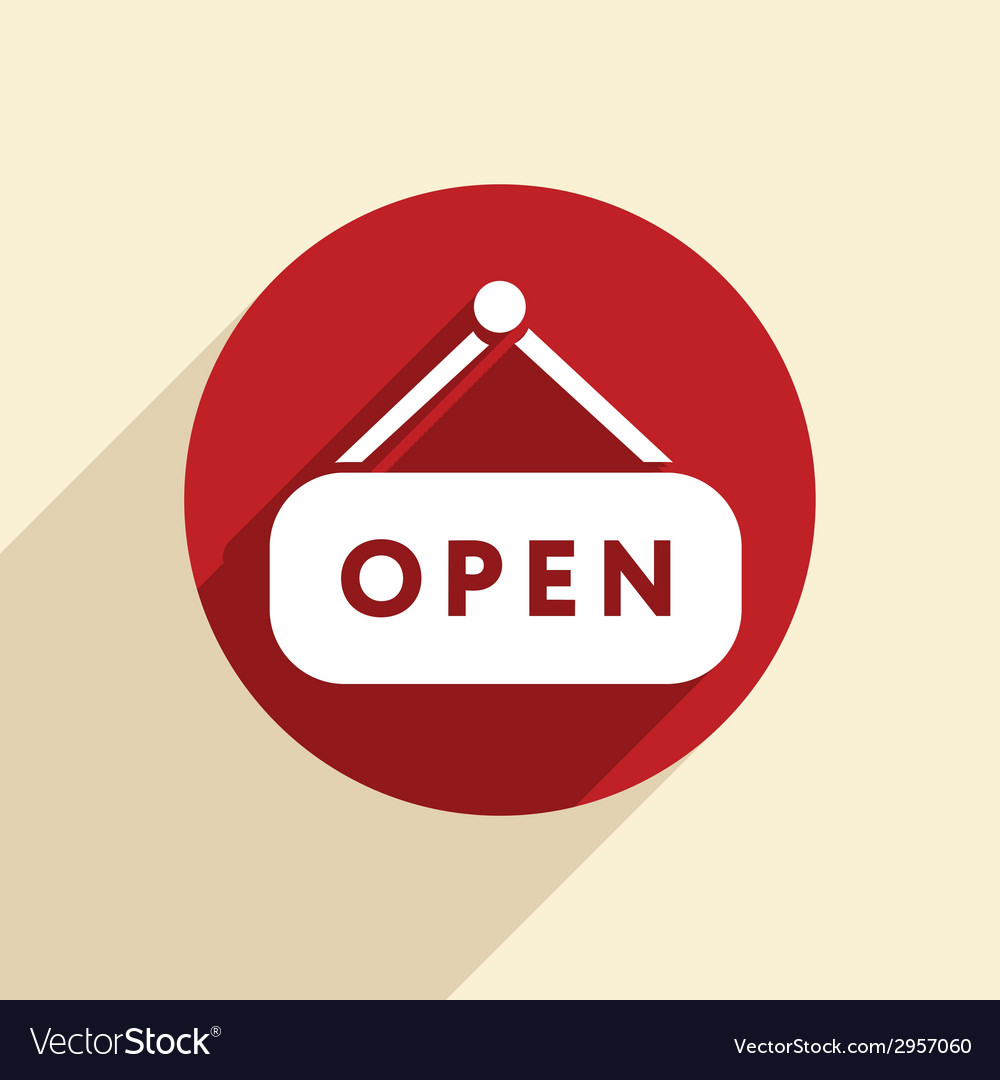 Open label sign vector   Price: 1 Credit (USD $1)