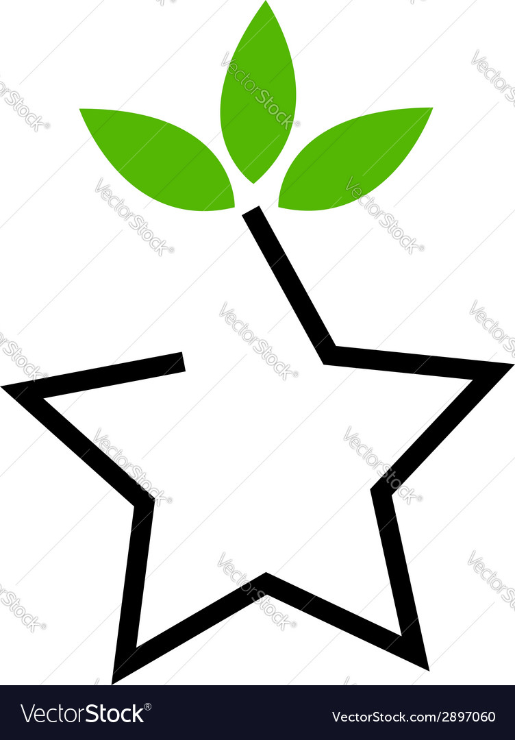 Symbol for ecological balance vector | Price: 1 Credit (USD $1)