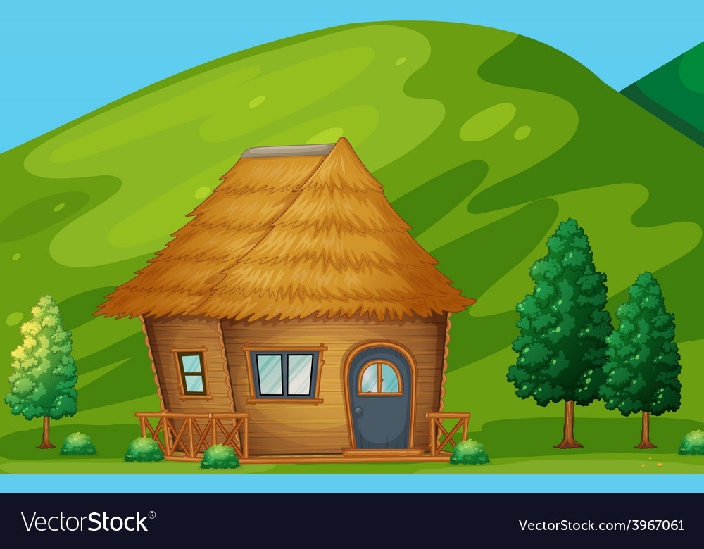 Cabin vector | Price: 3 Credit (USD $3)