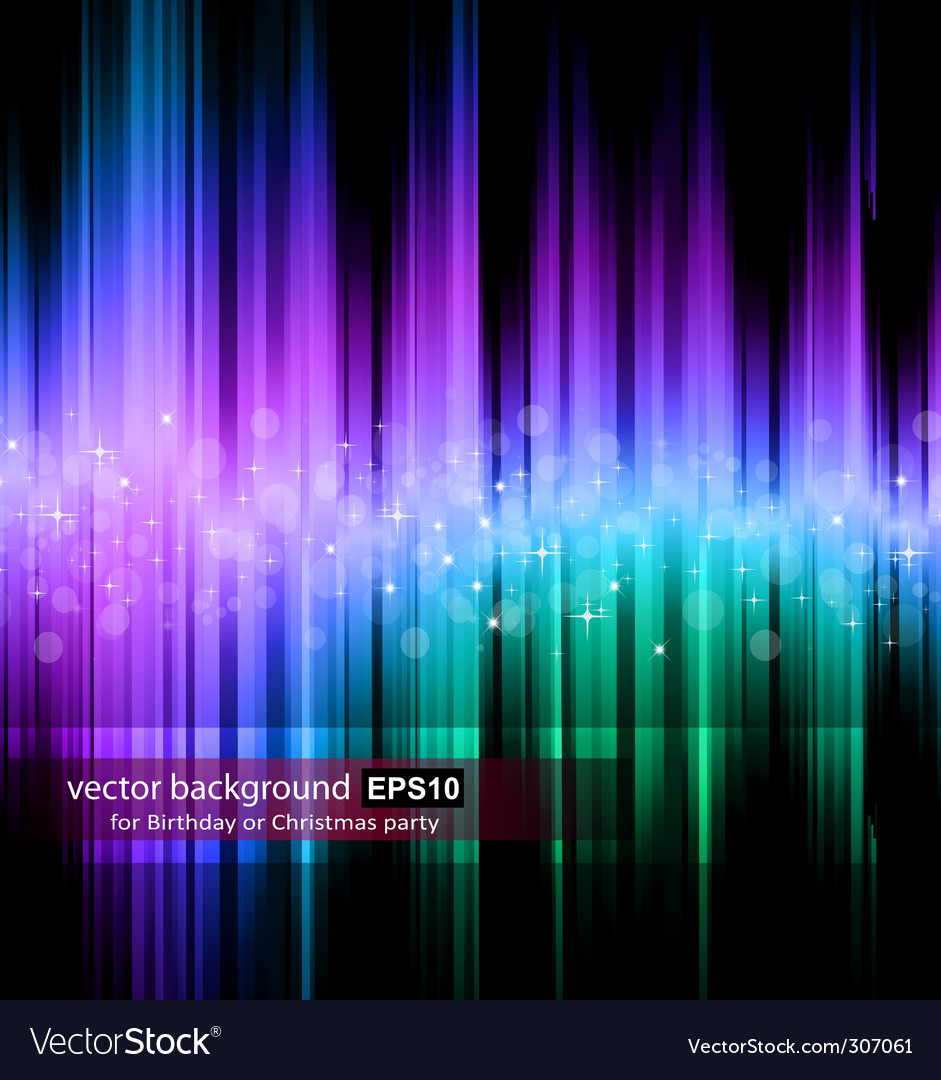 Rainbow stripes background vector | Price: 1 Credit (USD $1)