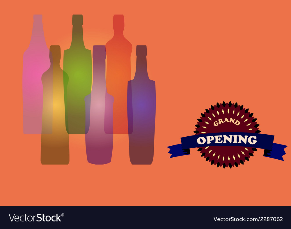 Bottles vector | Price: 1 Credit (USD $1)