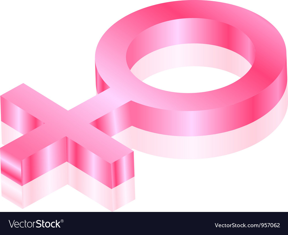 Female sign vector | Price: 1 Credit (USD $1)