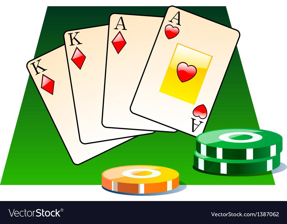 Icon casino vector | Price: 1 Credit (USD $1)