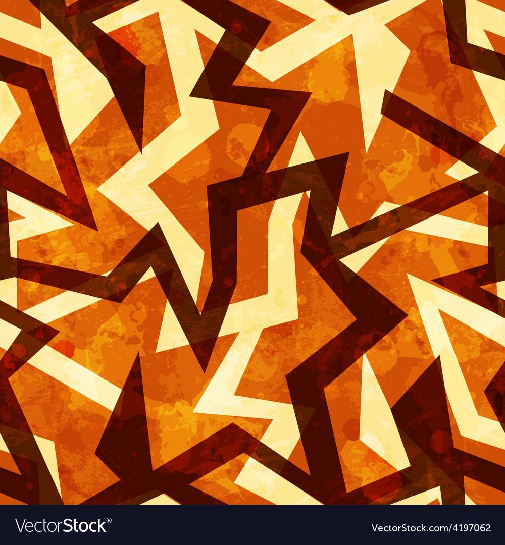 Warm grunge seamless pattern vector   Price: 1 Credit (USD $1)