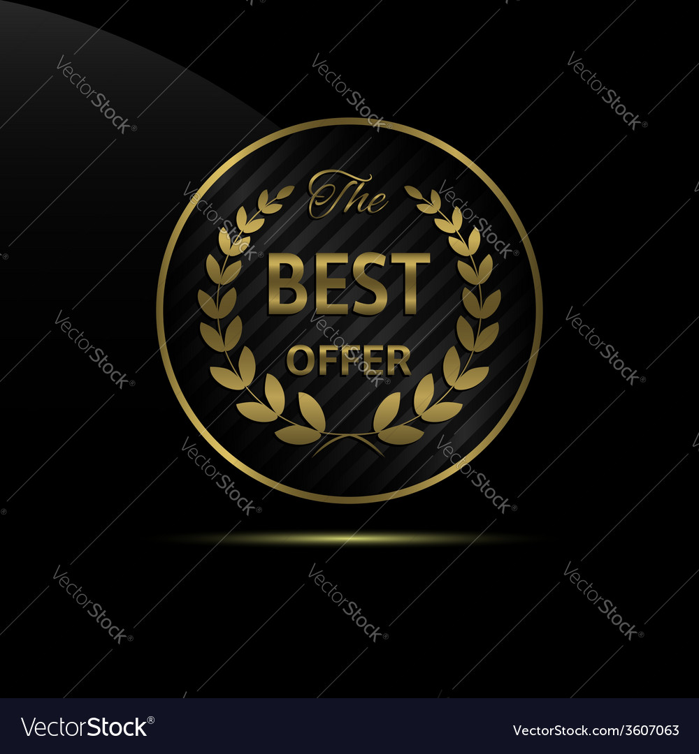 Best offer icon vector   Price: 1 Credit (USD $1)