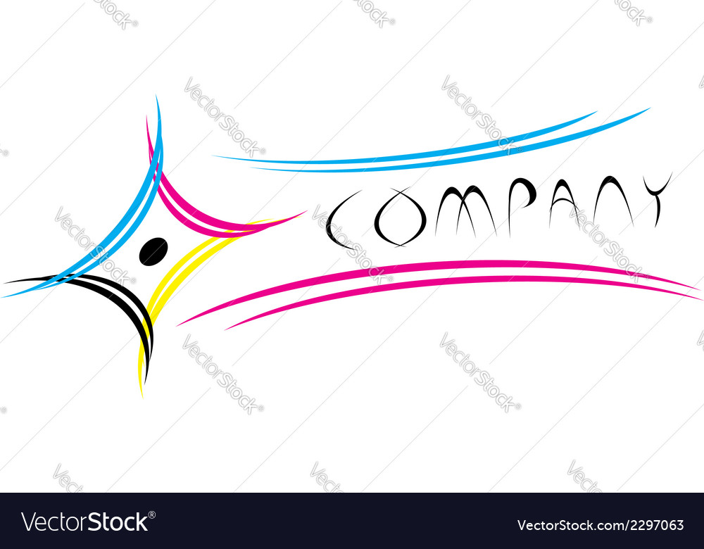 Cmyk logo vector | Price: 1 Credit (USD $1)