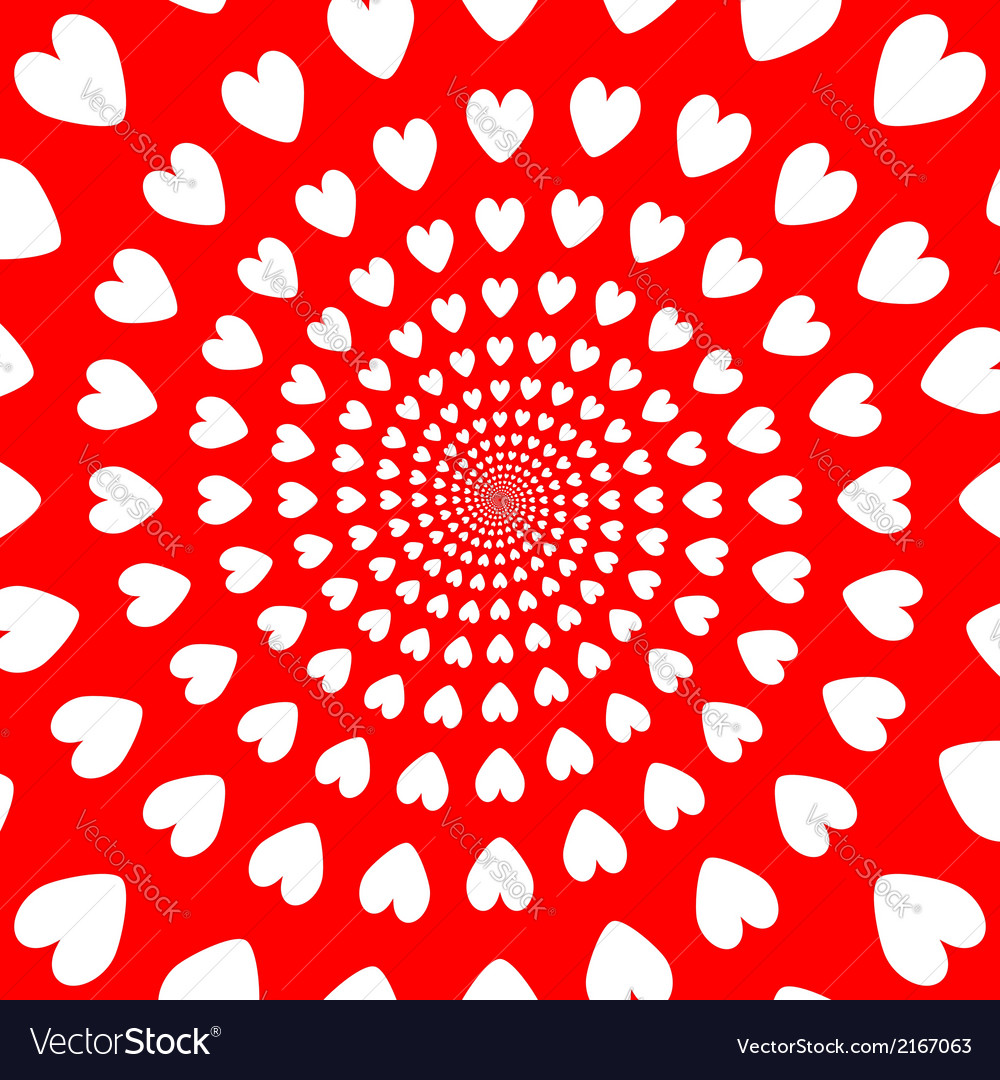Design colorful helix movement hearts background vector | Price: 1 Credit (USD $1)