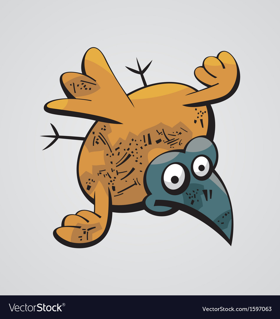 Fat bird vector | Price: 1 Credit (USD $1)