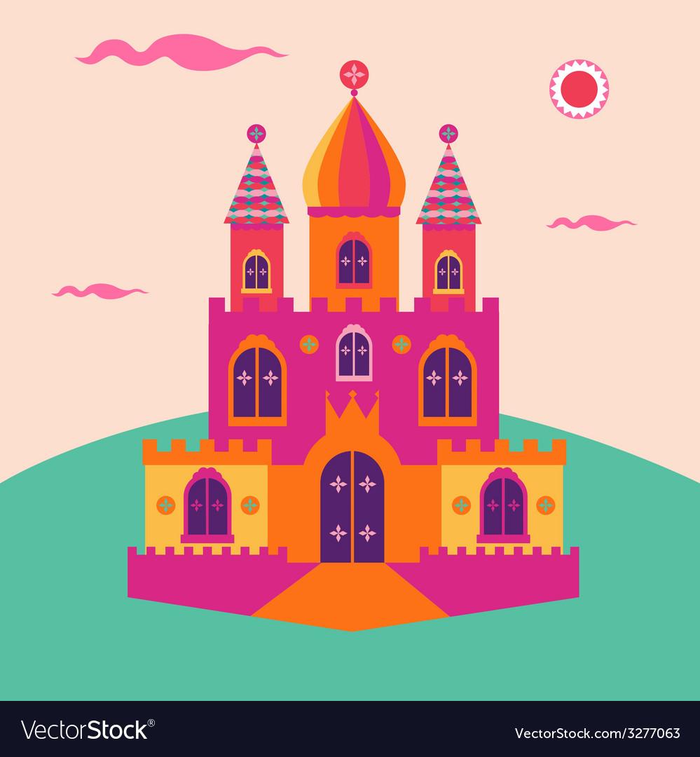 Magic castle vector | Price: 1 Credit (USD $1)