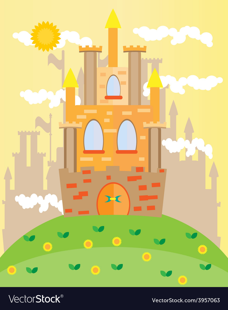 Picture of castle vector | Price: 1 Credit (USD $1)