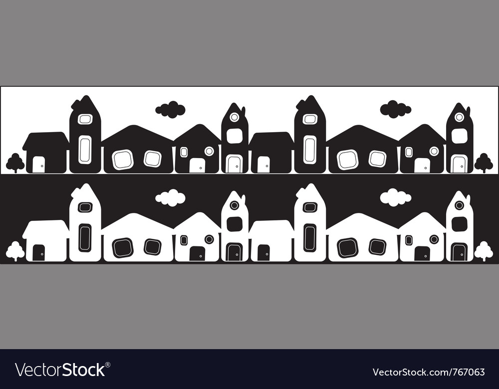 Town card vector | Price: 1 Credit (USD $1)