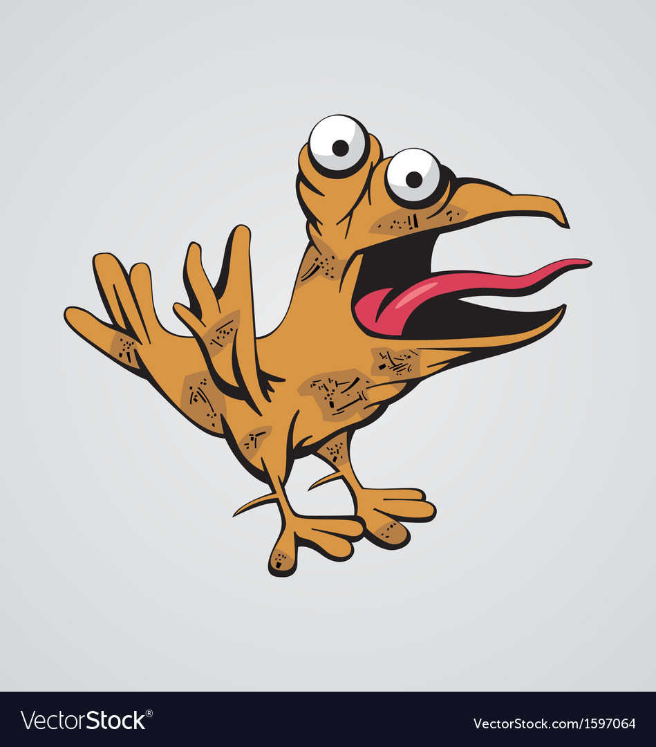 Funny bird vector | Price: 1 Credit (USD $1)