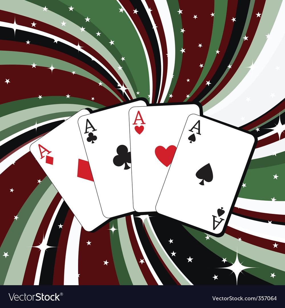 Gambling cards vector | Price: 1 Credit (USD $1)