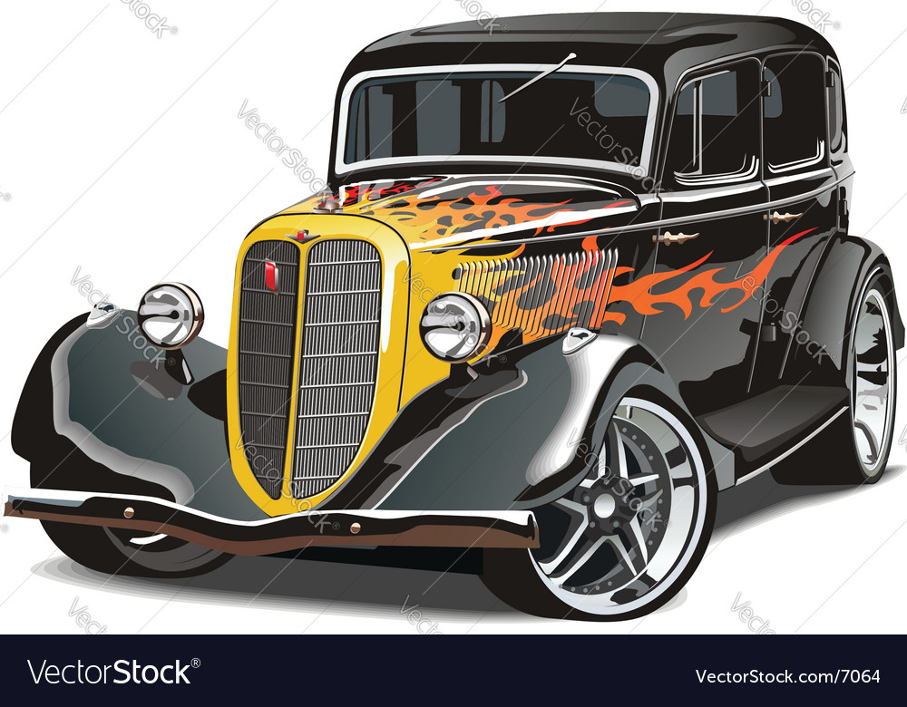 Gaz m1hotrod vector | Price: 5 Credit (USD $5)