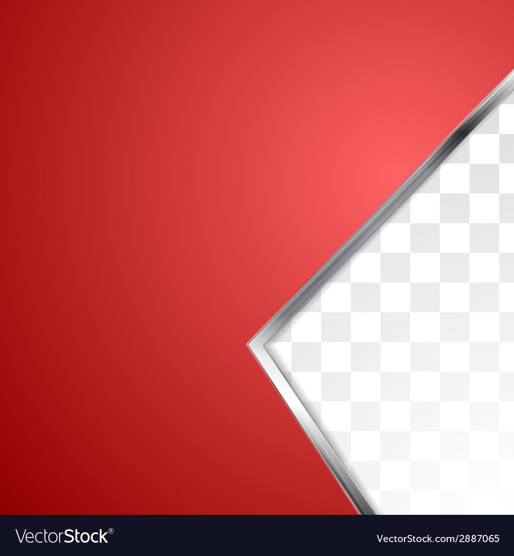 Abstract red background with metal stripe vector | Price: 1 Credit (USD $1)
