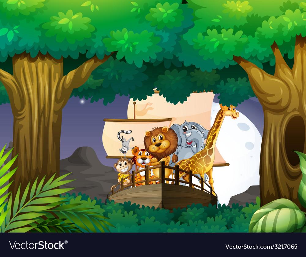 Animals vector | Price: 3 Credit (USD $3)