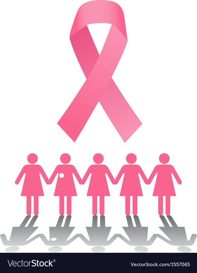 Breast cancer rally vector | Price: 1 Credit (USD $1)