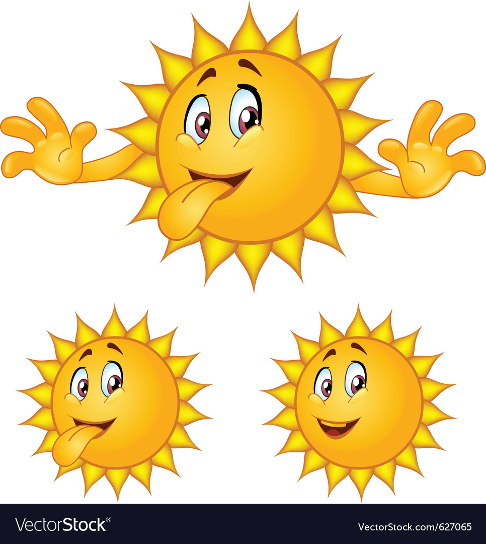 Sun tongue vector | Price: 1 Credit (USD $1)