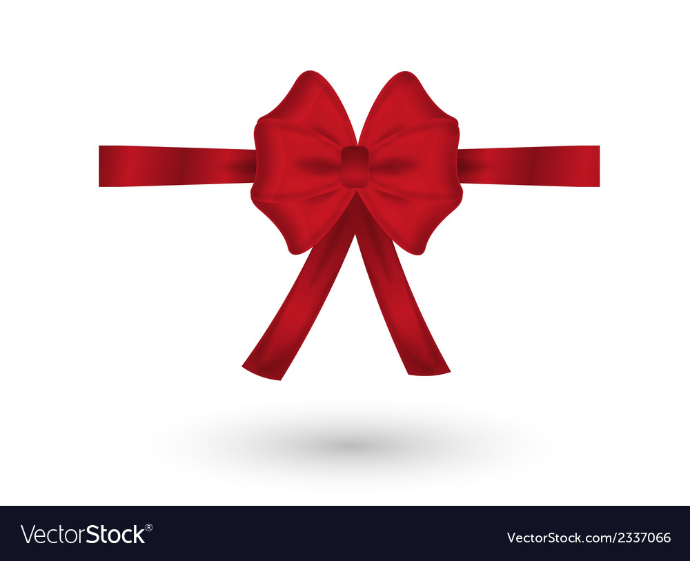 Red elegant bow vector   Price: 1 Credit (USD $1)